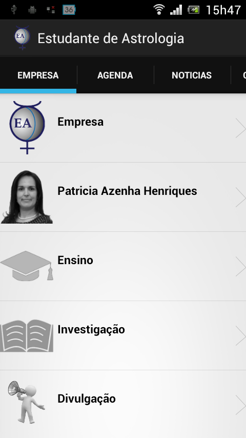 Estudante de Astrologia- screenshot