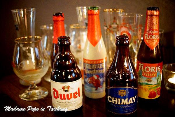 [台中] 布娜飛比利時啤酒餐廳(台中大遠百店)。原來比利時啤酒這麼豐富!