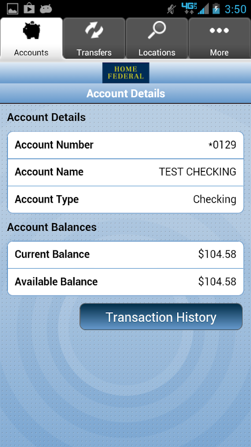 Home Federal Savings Bank - screenshot