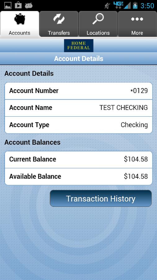Home Federal Savings Bank- screenshot