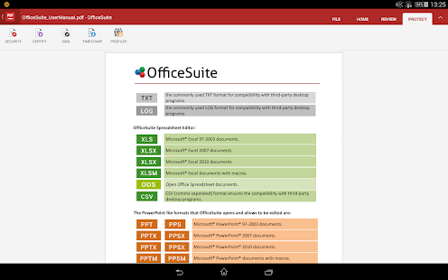 OfficeSuite + PDF Editor Screenshot 37