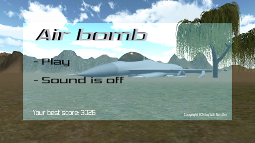Air bomb 3D Ads