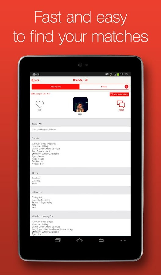 DoULike Online Dating App- screenshot