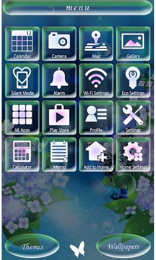 Hydrangea Theme-Rainy Season- 2.0.0 Windows u7528 3
