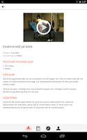 Screenshot of Styrkeprogrammet