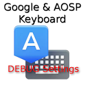 Google Keyboard Debug Settings icon
