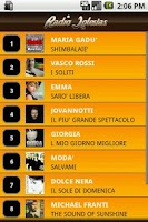 Screenshot of Radio Iglesias