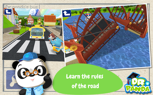 Dr. Panda Bus Driver  screenshots 2
