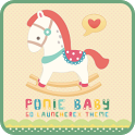 Poniebaby Theme GO LauncherEX icon