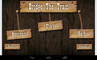 Screenshot of Bridge The Train - Kids Game