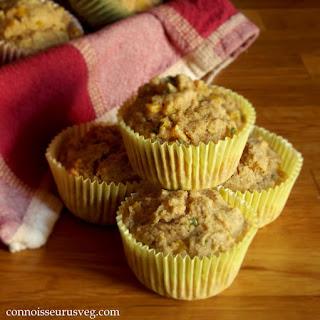 Vegan Corny Corn Muffins