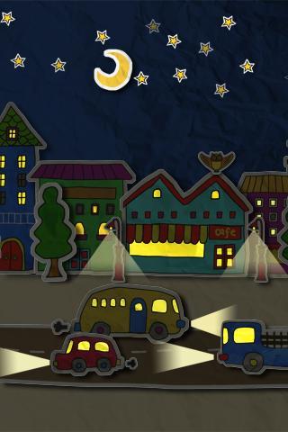 paper town 3Dライブ壁紙 - screenshot