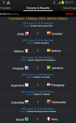 2015 Copa America Live