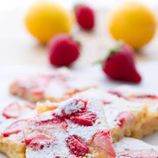 Strawberry Lemon Bars.