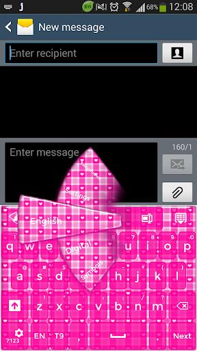 GOキーボードピンクのキーボード