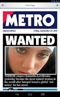 Screenshot of Metro Digital Edition