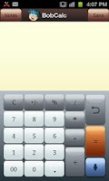 Screenshot of BobCalc
