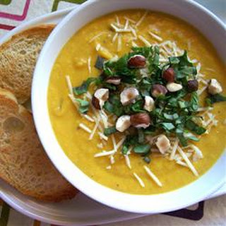 Spiced Butternut Squash Soup