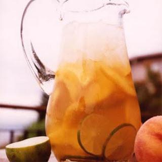 Sauvignon Blanc Peach Sangria.