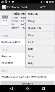 RadBeacon- screenshot thumbnail