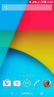 Screenshot of Kit Kat Xperien Theme