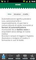 Screenshot of Automedicazione