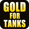 Gold for tanks icon