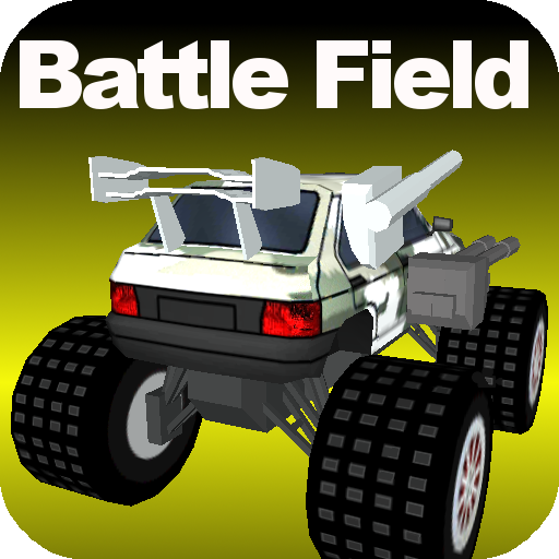 Battle Racing Filed 3D LOGO-APP點子