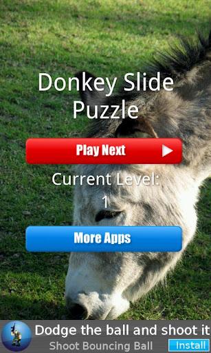 Donkey Slide Puzzle