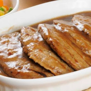 Classic Delicious Salisbury Steak with Gravy