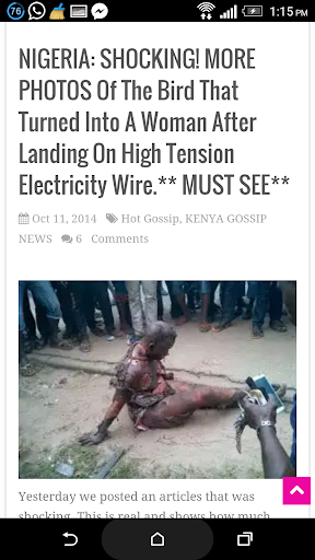 Africa Gossip News