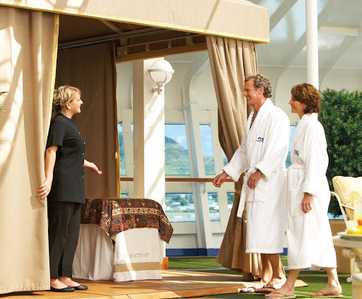 Sanctuary-Princess-Cruises-2 - Your Princess ship offers passengers a relaxing spot in solitude in the Sanctuary.