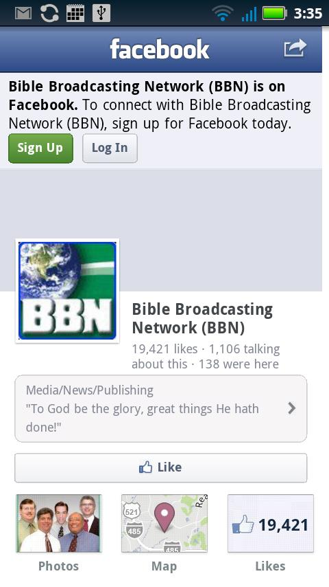 BBN Radio- screenshot