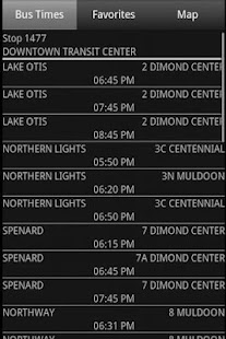 Anchorage Bus Times- screenshot thumbnail