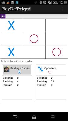 Tic tac toe - screenshot