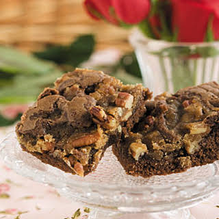Divine Praline Brownies.