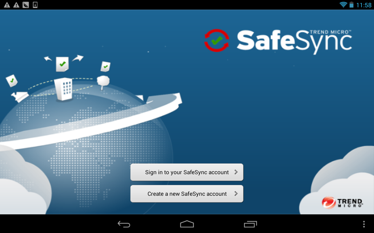 SafeSync™ (Deprecated)- screenshot