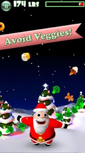 Hungry Santa- screenshot thumbnail