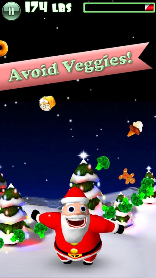 Hungry Santa - screenshot