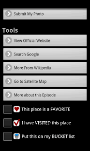 No Reservations Locator- screenshot thumbnail
