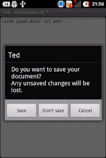 Ted (Text Editor) - screenshot thumbnail