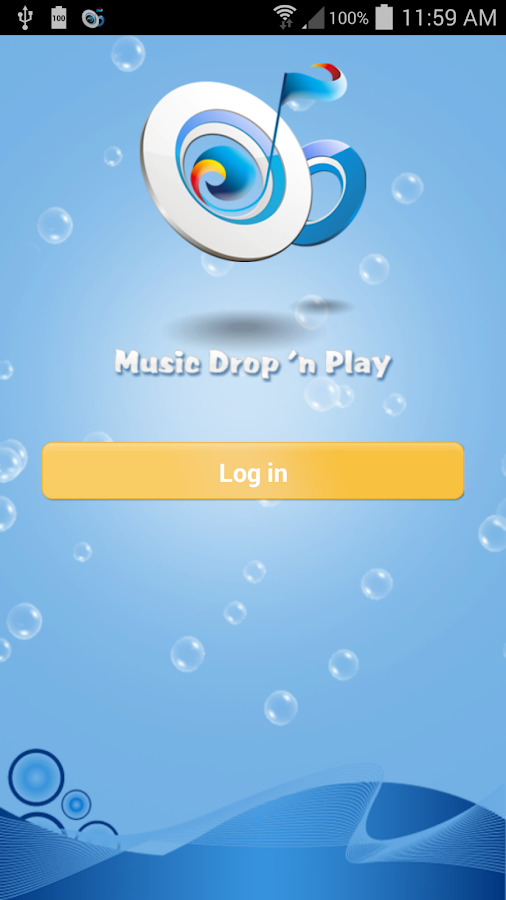 Music Drop 'n Play for Dropbox- screenshot