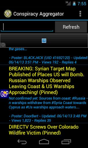 Conspiracy Aggregator