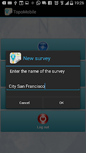 Topography APP screenshot