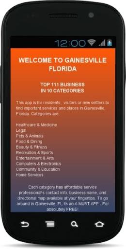 Gainesville Florida 2014 15