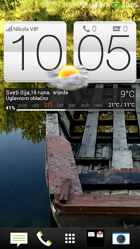 HTC Sense 5 clock weather +