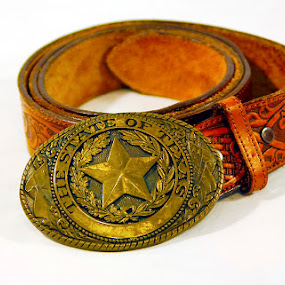 Texas belt by Jim Westcott - Digital Art Things ( texas belts, product photography, clothing, advertising, accessories, belts )