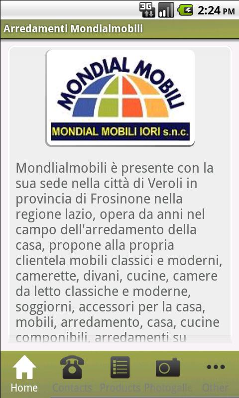 Arredamenti Mondialmobili - screenshot
