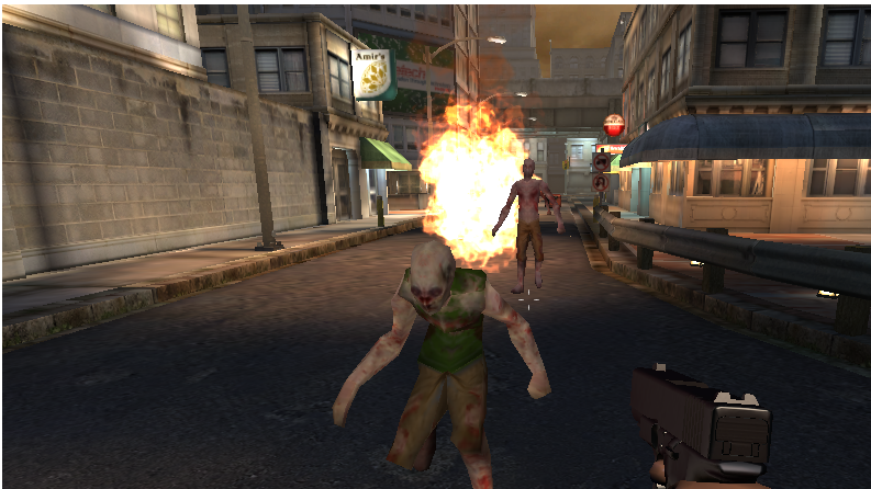 3D Dead Zombie Shooting - screenshot