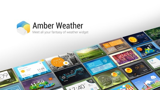 Amber Weather Widget v1.0.0